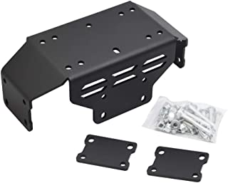 Dasen Winch Mount Plate kit for 15-19 Honda Pioneer 500 (Come with Complete Installation Instructions)