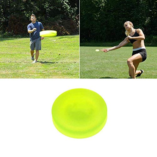Zip-Chip-Frisbee-Mini-Tasche Flexible Soft New Spin in Fangspiel Flying Disc