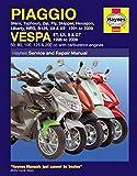 Coombs, M: Piaggio (Vespa) Scooters (91 - 09) (Service & repair manuals)