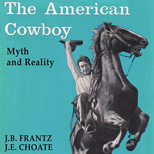 The American Cowboy audiobook cover art