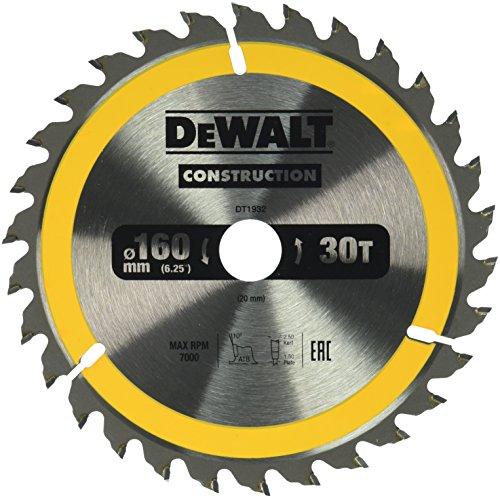 Preisvergleich Produktbild Dewalt DT1932-QZ Kreissaegeblatt Handkr. 160 / 20mm 30WZ,  Einheitsgröße,  6 Stück