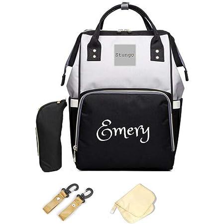 Navy Monogram Diaper Bag Baby Shower Girl Diaper Bag Personalized Diaper Bag Gift Embroidery Watercolor Diaper Bag