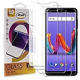 Guran 4 Paquete Cristal Templado Protector de Pantalla para Wiko Harry 2 Smartphone 9H Dureza Anti-Ara?azos Alta Definicion Transparente Película