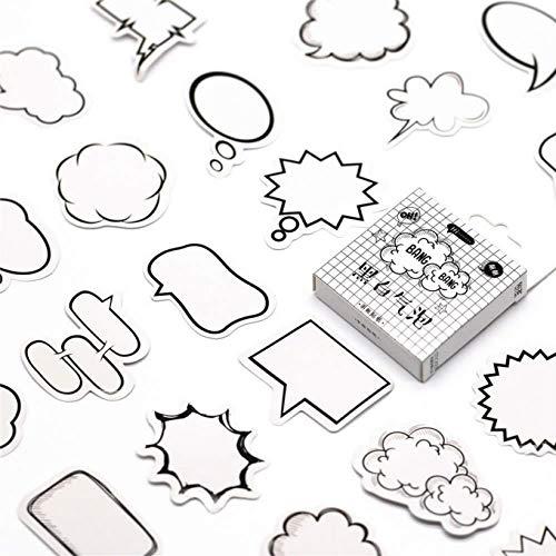 BLOUR 2019 Nueva Caja de comentarios, Pegatinas de papelería, Diario, Papel Adhesivo Hecho a Mano, Pegatina Japonesa, papelería para álbum de Recortes