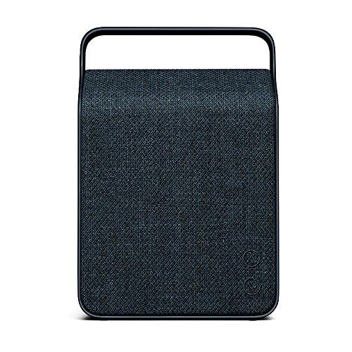 Vifa Oslo | WiFi &Bluetooth Lautsprecher | Tragbare, kabellose Musikbox | Preisgekröntes Skandinavisches Design - Bergblau