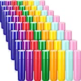 64 Pieces 5ml Empty Lip Gloss Tubes Containers Refillable Lip...