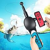 【2020最新進化版】 釣り竿 Joy-con用 釣りスピリッツ対応 任天堂 スイッチ 釣竿 釣りロッド 体感コントロールゲーム Nintendo Switch Joy-con用 フィッシング