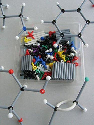 ORBIT Molekülbaukasten Chemie: Basis-Set mit 160 Teilen und farbigem Booklet
