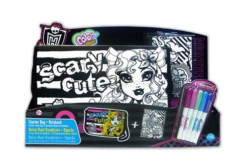 Sac besace + carnet Color Me Mine Monster High
