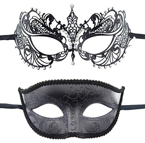 KEFAN Traje de Mascarada Mascarada de Pareja Traje de Carnaval máscara de Carnaval de Halloween