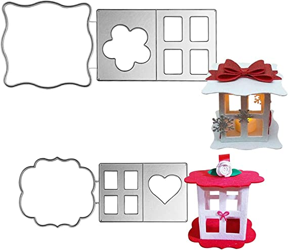 color plateado plantilla troqueles de corte de metal punz/ón manualidades /álbumes de recortes Feida Troqueles de corte tarjetas de repujado caja de regalo de caramelo