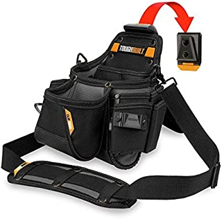 ToughBuilt - Plumber ClipTech Pouch + Hub with Shoulder Strap (14 Pockets/Loops)