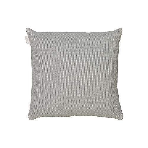 LINUM Kissenhülle PEPPER G15 grau 40cm x 40cm Canvasgewebe, 100% Baumwolle, Kissenbezug, Wohntextilien