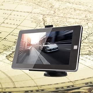 LISRUI Navigateur de Voiture de Navigation de v/éhicule de avec la Carte des USA multifonctionnelle Photographie num/érique de 7 Pouces 8GB