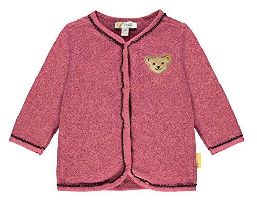 Steiff® Baby Mädchen Fleecejacke, Größe:80, Präzise Farbe:Pink