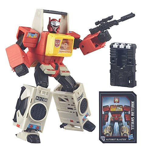 Transformers Generations Titans Return Autobot Blaster and Twin Cast (Discontinued by manufacturer)