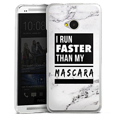 DeinDesign HTC One M7 Hülle Case Handyhülle Mascara Beauty Statement
