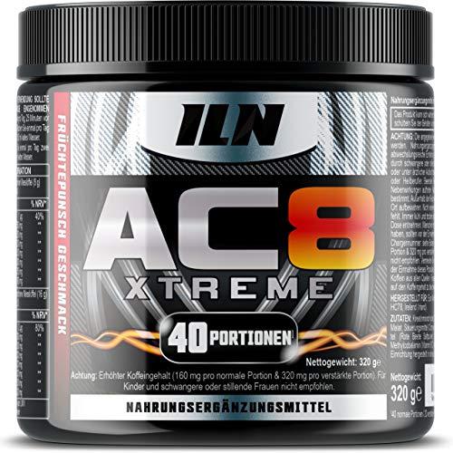 AC8 Xtreme – Pre Workout Booster Mit Kreatin, Beta-Alanin,...