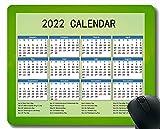 Gaming Mouse Pad 2022 año Calendario con Vacaciones, Glare Circles Fondo Light Gaming Mouse Pad Mousemat01