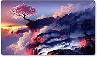 Pink Tree - Board Game MTG Playmat Table Mat Games Size 60X35 cm Mousepad Play Mat for Yugioh Magic The Gathering