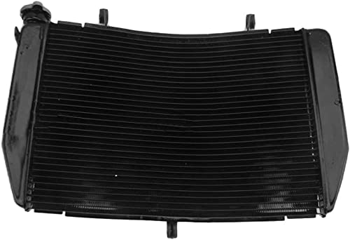 lowest Mallofusa Motorcycle Aluminum Radiator Cooling Cooler Compatible for high quality Yamaha YZF R1 2004 wholesale 2005 2006 Black sale