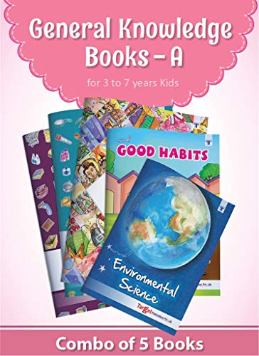 Nurture General Knowledge Books For Kids In English | 3 To 7 Year | GK Picture Books With Activities For Children | Picture Dictionary On Festivals Of India, Good Habits And EVS | Set A of 5 Books