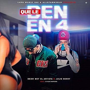 Que Le Den en 4 (feat. Julio Berry)