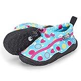 Sterntaler Baby - Mädchen Aqua-Schuhe mit Gummizug und rutschfester Sohle, Farbe: Türkis, Größe: 25/26, Alter: 3-4 Jahre, Art.-Nr.: 2512105