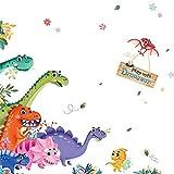 Wandaufkleber Abnehmbare Dinosaurier Wandaufkleber Für