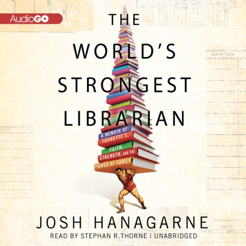 The World's Strongest Librarian audiobook cover art