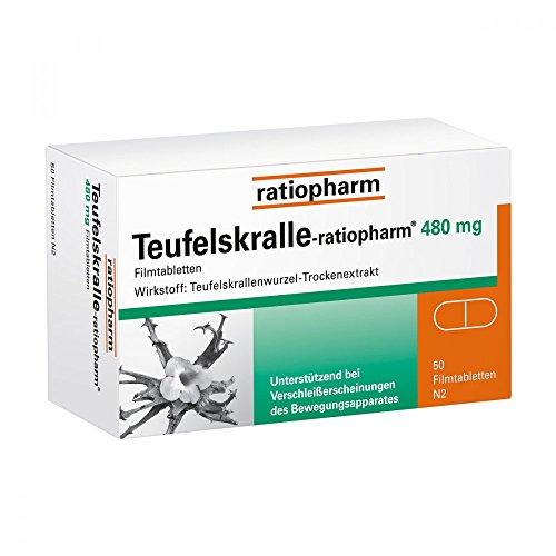 Teufelskralle-ratiopharm 480 mg, 50 St
