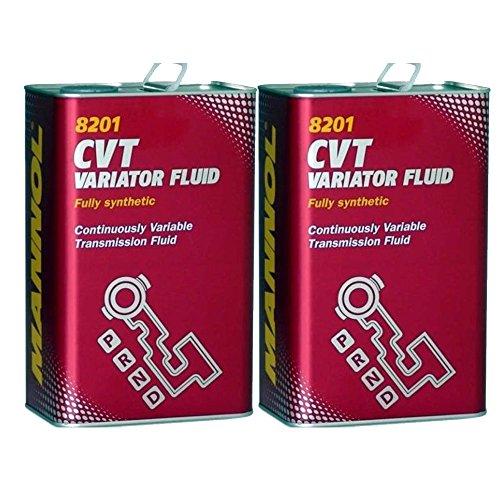 MANNOL 2 x 4L CVT Variator Fluid/Automatik-Getriebeöl 236.20