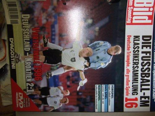 Die Fussball-EM ~ Klassikersammlung 16 ~ Deutsche Triumphe, alle grossen Spiele ~ Viertelfinale 1996 ~ Deutschland - Kroatien 2:1