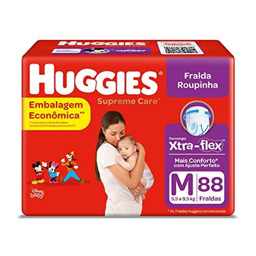 Huggies Fralda Supreme Care Roupinha BAG M, 88 Fraldas, Huggies