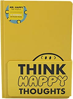 MR MEN LITTLE MISS CHILDRENS BOOK CHARACTER MR HAPPY MAGNETIC NOTE LIST PAD