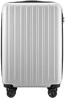 HPXCAZ Travel Suitcase Student Suitcase Male Suitcase Female Suitcase Universal Wheel Lock Box Color Gray Black Size 50.5 * 34.5 * 22cm (Color : Gray)