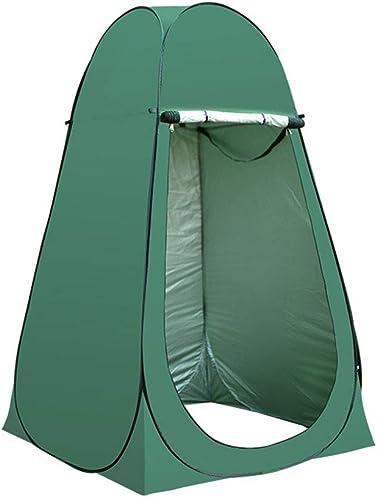 Tente de Douche de Camping escamotable, Toilette de Camping et vestiaire, adaptée au Camping et aux plages - Facile à Installer,Vert