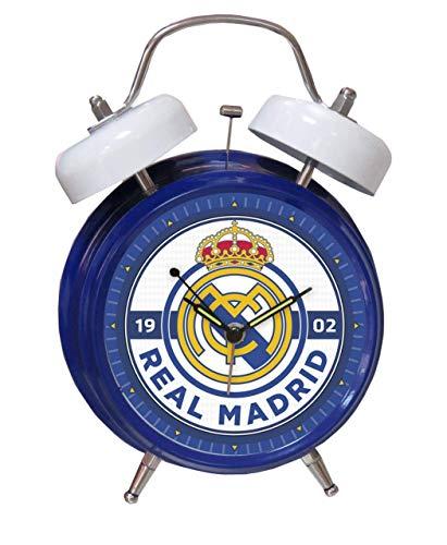 Betis-Despertador Musical Himno Real Madrid Electrónica/comunicación Juvenil, Color (Azul), único DM-12-RM