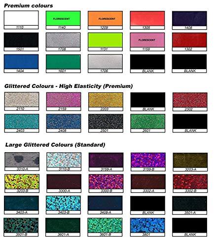 JEDES–Große Blättern Farben T-Shirt Vinyl Flex 1000mm x 500mm Transferpresse drucken 3403-A