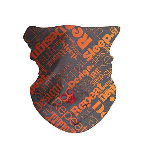 HAOZI - Pañuelo para el aire libre, 2 unidades, unisex, tubo de cuello, transpirable, multifunción, elástico, sin costuras, pañuelo deportivo, máscara de equitación, color Diseños, tamaño 50 CM x 25 CM