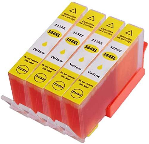 Teland - Cartucho de tinta HP 364 364XL compatible con HP 364 364-XL para HP Photosmart 5510 5520 5522 5520 6520 B8550 C5388 7510 7520 5524 6510 5515 HP Officejet 4620 HP Deskjet 3070A