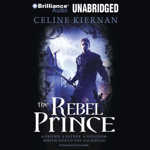 The Rebel Prince audiobook cover art