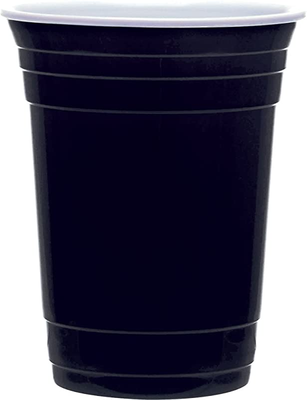 The Reusable Cup 16oz Drinkware Double Walled Black