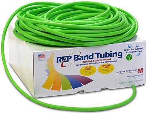 REP Band¨ exercise tubing - latex green 100 foot Soldering Phoenix Mall free level