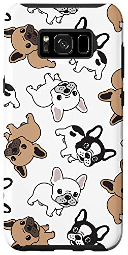 Galaxy S8+ Cute French Bulldog Puppy Phone Case - Dog Lovers Gift Case