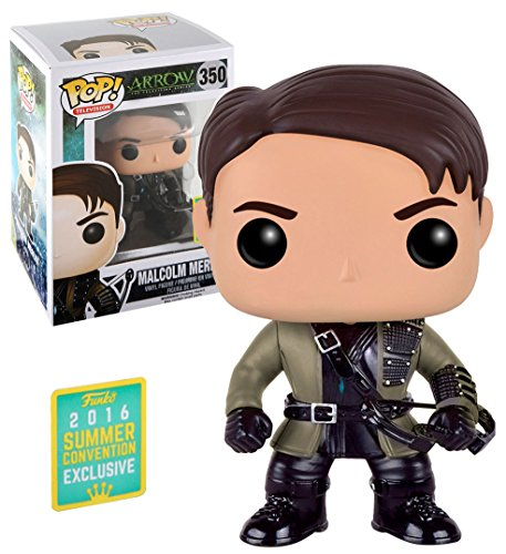 Funko - Figurine Arrow TV - Malcolm Merlin Exclu Pop 10cm - 0849803094843