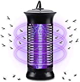 HCFSUK Lámpara electrónica para Matar Mosquitos, con Trampa para Mosquitos de luz Ultravioleta de 6W para Uso en Interiores de jardín de Cocina en casa
