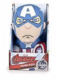 Marvel- Capitan America Peluche con sonidos (Famosa 760014301) , color/modelo surtido