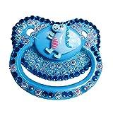 zhongbao Chupete de bebé de tamaño adulto Chupete de juego de silicona para adultos de gran tamaño Chupete adulto Chupete chupete chupete de bebé (Color: 5)