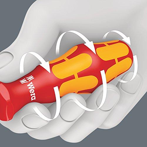 Wera Schraubendrehersatz 160 i/7 Rack Kraftform Plus + Spannungsprüfer + Rack, 7-teilig, 05006147001 - 24